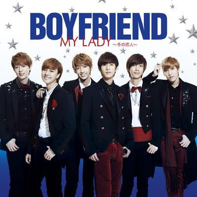 BOYFRIEND 2nd single released「キミとDance Dance Dance / MY LADY ~冬の恋人~」