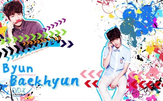 Byun Baekhyun Special Wallpaper