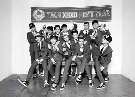 Team XOXO first year EXO