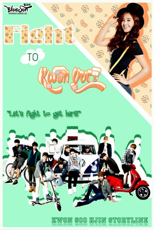 Fight to Kwon Yuri-  potrait